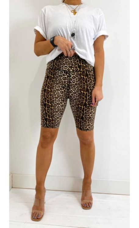 Cycling Shorts | Leopard