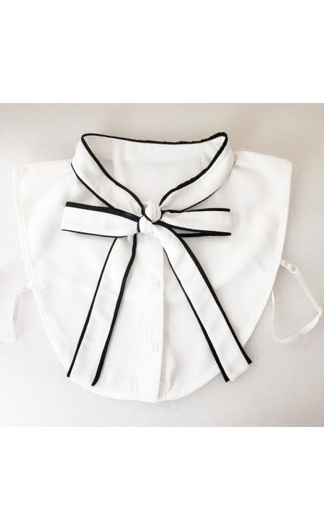 Bow Collar | White