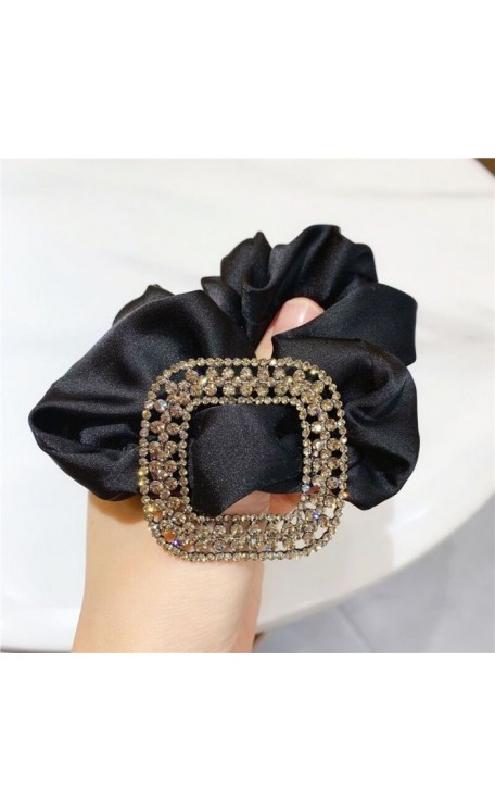 Ana Scrunchie | Black