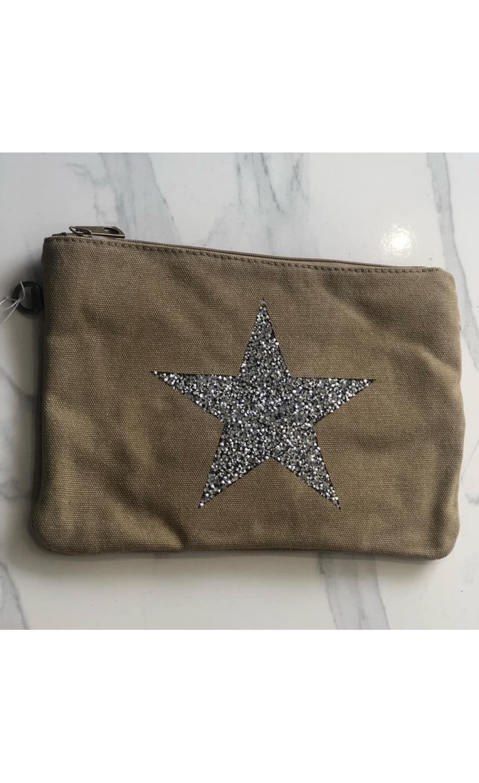 Star Bag | Canvas | Stone