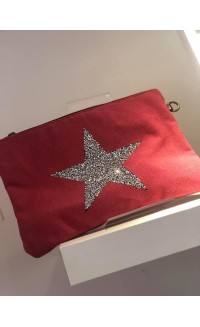 Star Bag | Canvas | Red