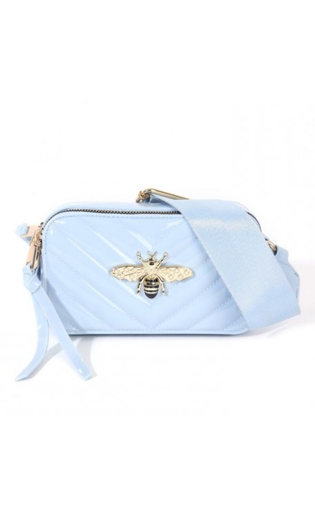 Patent Bee Bag | Baby Blue