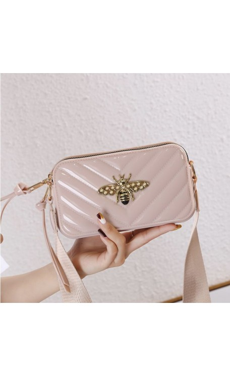 Patent Bee Bag | Nude